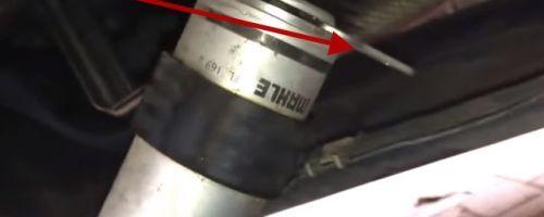 Замена топливного фильтра BMW X5 E70