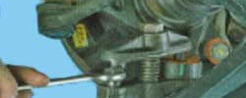 Замена шаровой Киа Рио 3