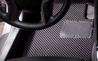 EVA — самые чистые и удобные коврики для авто