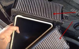 Замена салонного фильтра BMW X5 E70