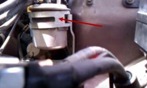 Замена топливного фильтра Субару Легаси