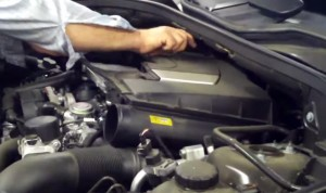 Замена фильтров Mercedes ML350