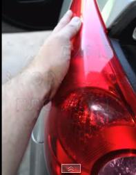Снятие фары Nissan Tiida