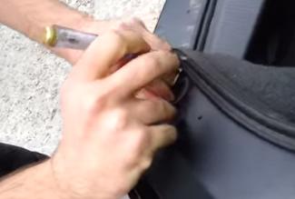 Выпрямление кнопки Opel Astra H