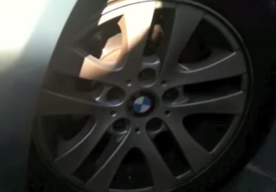 Выворачиваем колеса BMW E90