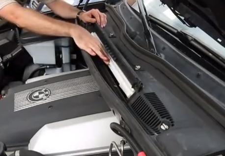 Ставим новый фильтр BMW X5 (E53)