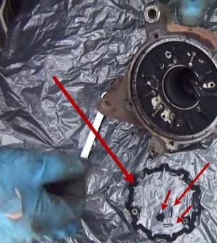 Вычищаем нагар на турбине Ауди А6 С5