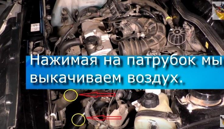 Прокачиваем систему охлаждения Ваз 2114