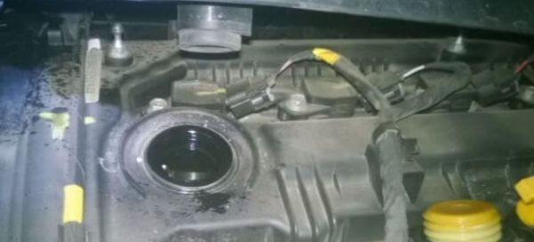 Сливаем масло из двигателя Хендай ix 35