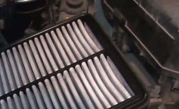 Воздушный фильтр двигателя Хендай Туссан